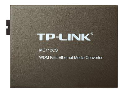 TP LINK 10/100M RJ45 to 100M Single-Mode SC Fiber Converter