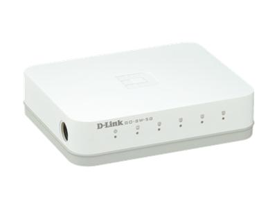 D-Link 5-Port GIGABIT EASY DESKTOP SWITCH