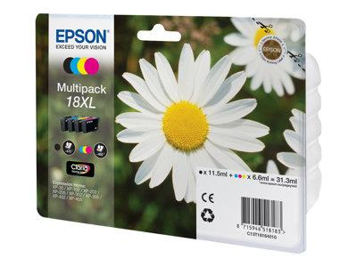 Epson XP30/302/405 Pack Of 4 Inks XL SIZE