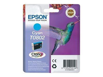 Epson T080 Stylus Photo Ink Cartridge - Cyan