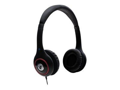 V7 Deluxe Stereo Headset Black (HA510-2EP)
