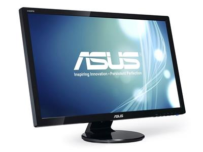"Asus VE278H 27"" 1920x1080 2ms VGA HDMI Black Monitor w/Speakers"