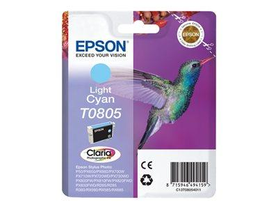 Epson T080 Stylus Photo Light Cyan Ink Cartridge