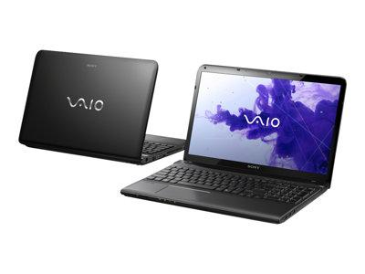 "Sony VAIO SVE1512K1EB i5-3210M 15.5"" 4GB 640GB Win8 -  Black"