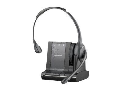 Plantronics Savi W710 Over-the-Head Monaural Wireless Headset - Triple Connectivity