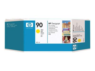 HP 90 400-ml Yellow Ink Cartridge