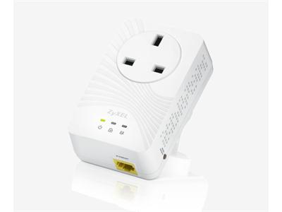 ZyXEL PLA4211 500Mbps Pass-through Powerline Adapter