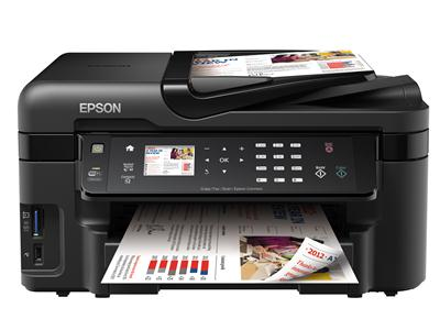 Epson WorkForce WF-3520DWF Colour Inkjet Multifunction Printer