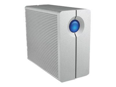 LaCie 8TB 2big Thunderbolt 7200RPM with Thunderbolt Cable