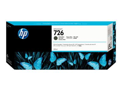 HP 726 300-ml Matte Black Designjet Ink Cartridge