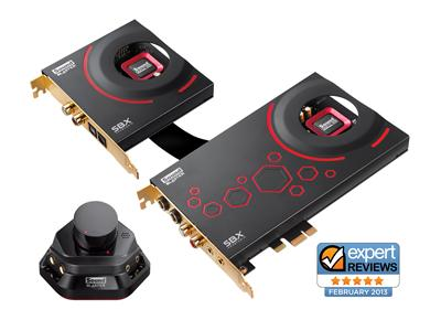 Creative SoundBlaster ZxR PCI-Express Desktop Audio System