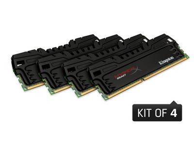 Kingston 32GB (4 x 8GB) HyperX Beast DDR3 2400MHz DIMM CL11