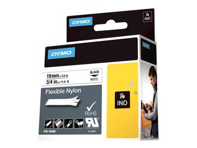 DYMO ID1 19mm - 1300mm Flexible Nylon - White