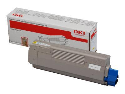 OKI C610 Yellow Toner