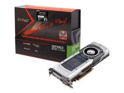 Zotac GeForce GTX TITAN 6GB PCI-Express 3.0 HDMI