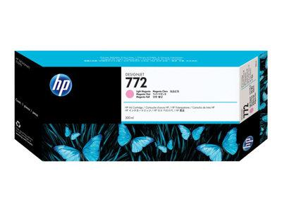 HP 772 300-ml Light Magenta Designjet Ink Cartridge