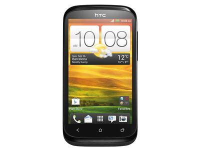 "HTC Desire X - Android - 3G - 4GB - 4"" - Super LCD - black"