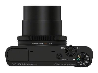 Sony Cyber-shot DSC-RX100 - compact - 20.2 Mpix - 3.6x optical zoom - Carl Zeiss