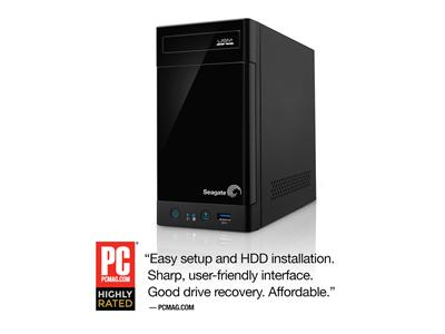 Seagate 4TB (2 x 2TB) 2-Bay Business Storage NAS