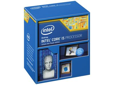 Intel Core i5-4670K S1150 3.4GHz 6MB Haswell Quad Core Processor Unlocked