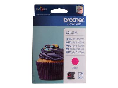 Brother LC123M Magenta Ink Cartridge