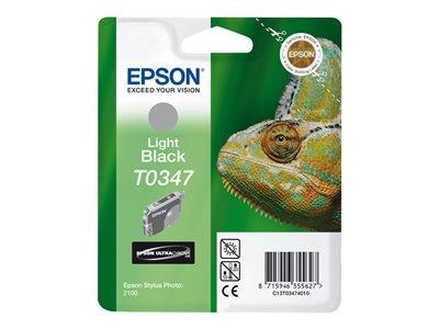 Epson Singlepack Light Black T0347 Ultra Chrome