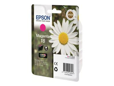 Epson Singlepack Magenta 18 Claria Home Ink