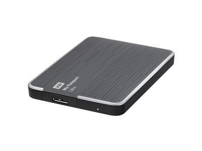 "WD 2TB My Passport Ultra USB 3.0 2.5"" Hard Drive Titanium"