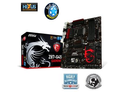 MSI Z87-G45-GAMING S1150 Intel Z87 DDR3 ATX