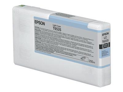 Epson T6535 Light Cyan Ink Cartridge (200ml)