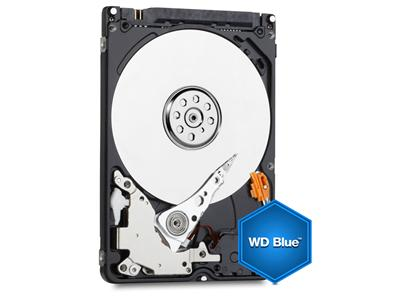 WD Blue 750GB  Mobile 9.5 MM Hard Disk Drive - 5400 RPM SATA 6 Gb/s  2.5 Inch - WD7500BPVX