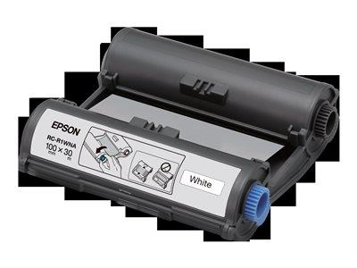 Epson RC-R1WNA 100mm White Ribbon