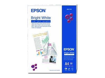 Epson Bright White InkJet Paper A4 500 Sheets