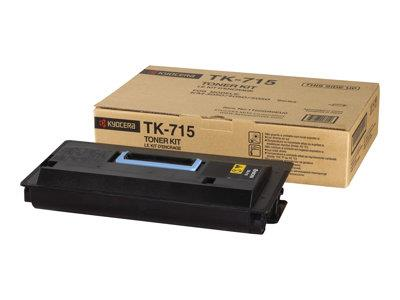 Kyocera TK-715 Black Toner Kit