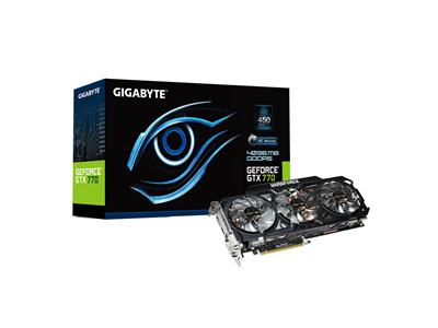 Gigabyte GeForce GTX 770 1137MHz 4GB PCI-E 3.0 HDMI Windforce 3X