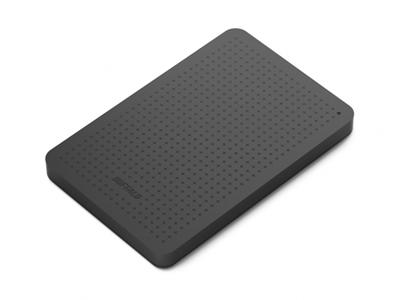 "Buffalo 500GB MiniStation USB 3.0 2.5"" Portable Hard Drive Black"