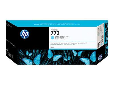 HP 772 300-ml Light Cyan Designjet Ink Cartridge