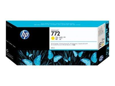 HP 772 300-ml Yellow Designjet Ink Cartridge