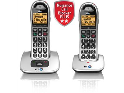 BT4000 Advanced Nuisance Call Blocker - Twin