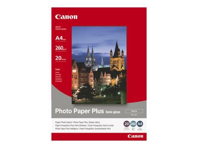 Canon Photo Paper Plus SG-201 - Semi-gloss satin - 101.6 x 152.4 mm - 260 g/m2 - 50 sheets