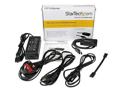 StarTech.com USB 3.0 to SATA or IDE Hard Drive Adapter Converter