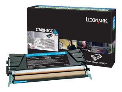 Lexmark C748 Cyan High Yield Return Program Toner
