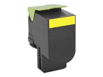 Lexmark 802XY Yellow Extra High Yield Return Program 4K