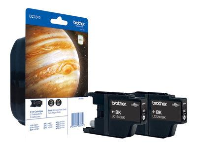 Brother Black Twin Pack Cartridges
