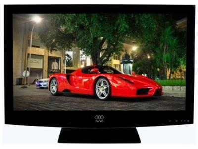 Nurvo 24IN FULL HD EDGE TO EDGE LED TV/DVD Combi