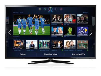 "Samsung 40"" F5500 Series 5 Smart Full HD LED TV - UE40F5500AKXXU"