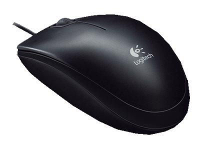 Logitech B100 Optical Mouse for Business Black