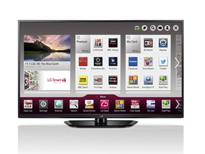 "LG Electronics 50PH660V 50"" 3D Plasma TV Smart FHD Freeview"