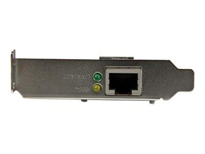 StarTech.com 1 Port PCI Express PCIe Gigabit NIC Server Adapter Network Card - Low Profile
