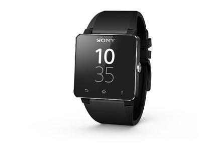 Sony SmartWatch 2 Android - Black Silicone Strap